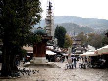 Bascarsija- Sebilj- zdrój publiczny