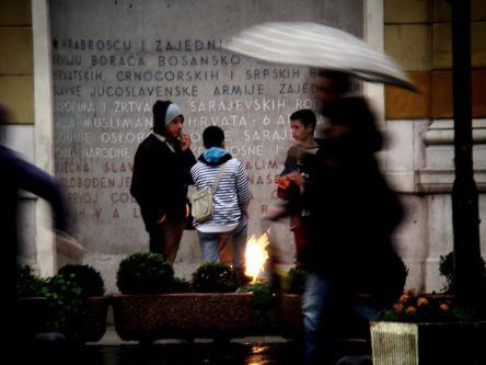 Ulica Marszałka Tito- Pomnik Armii Jugosłowiańskiej