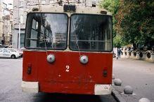 pętla trolejbusowa przy Parku Studenckim