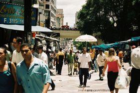 São Paulo- ulica Paulistanos