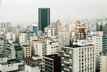 São Paulo- widok z hotelu Tryp Higienopolis przy ulicy Maranhão
