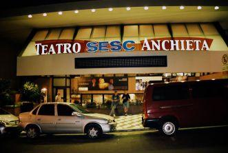 São Paulo- Teatr SESC, ulica Dr Vila Nova