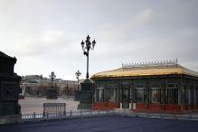 widok na muzeum Puszkina- вид на музей А. С. Пушкина