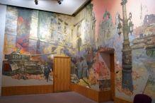 Dekoracje na ścinach sal wystawowych