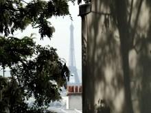 Wieża Eiffla widziana z Montmartre