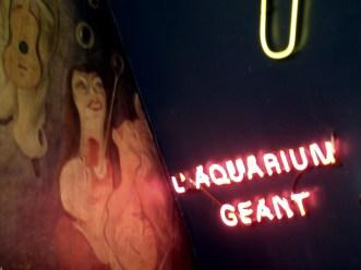 Moulin Rouge- neony przed wejściem