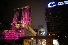 Kowloon- The Peninsula Hotel nocą