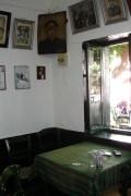 Anogia- Wnętrze kafenionu