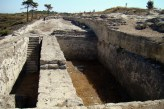 Ruiny Kamiros- cysterny na wodę