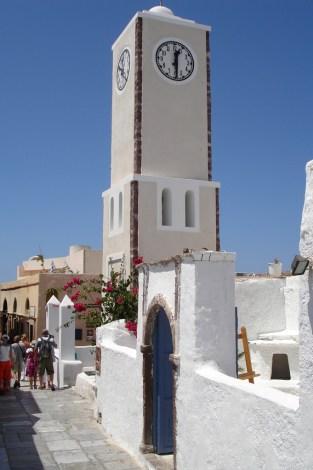 Oia- wieża zegarowa