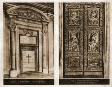 4.Porta Santa ( Brama Jubileuszowa) ____ 5.Brama brązowa Bazyliki