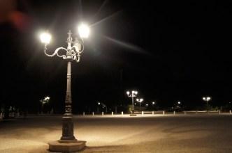 Rzym nocą-Piazzale Napoleone I