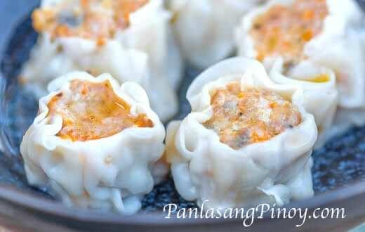 Crab and Pork Shumai Recipe Siomai Panlasang Pinoy