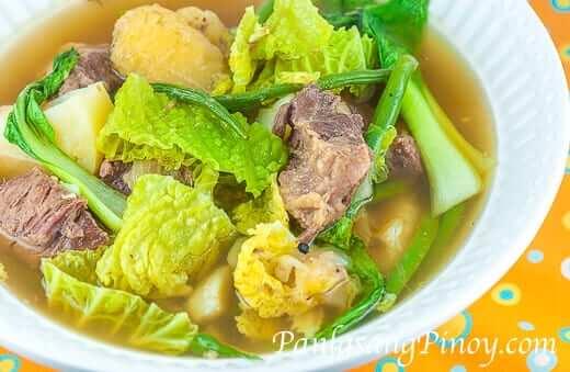 Slow Cooked Beef Nilaga Soup Recipe - Gutom Na!