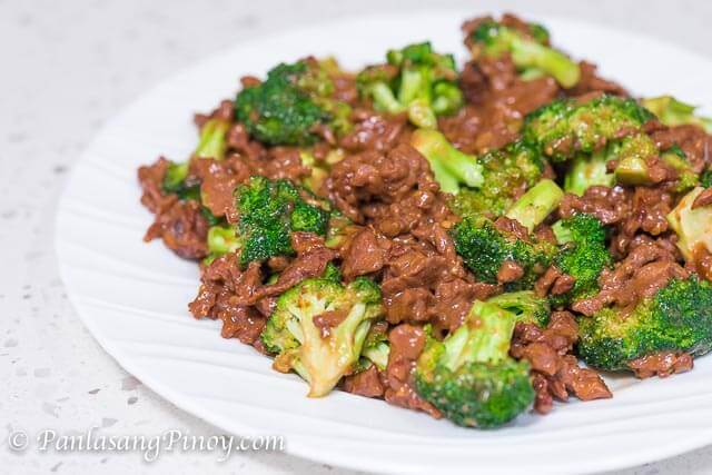 Classic Beef with Broccoli Recipe - Panlasang Pinoy
