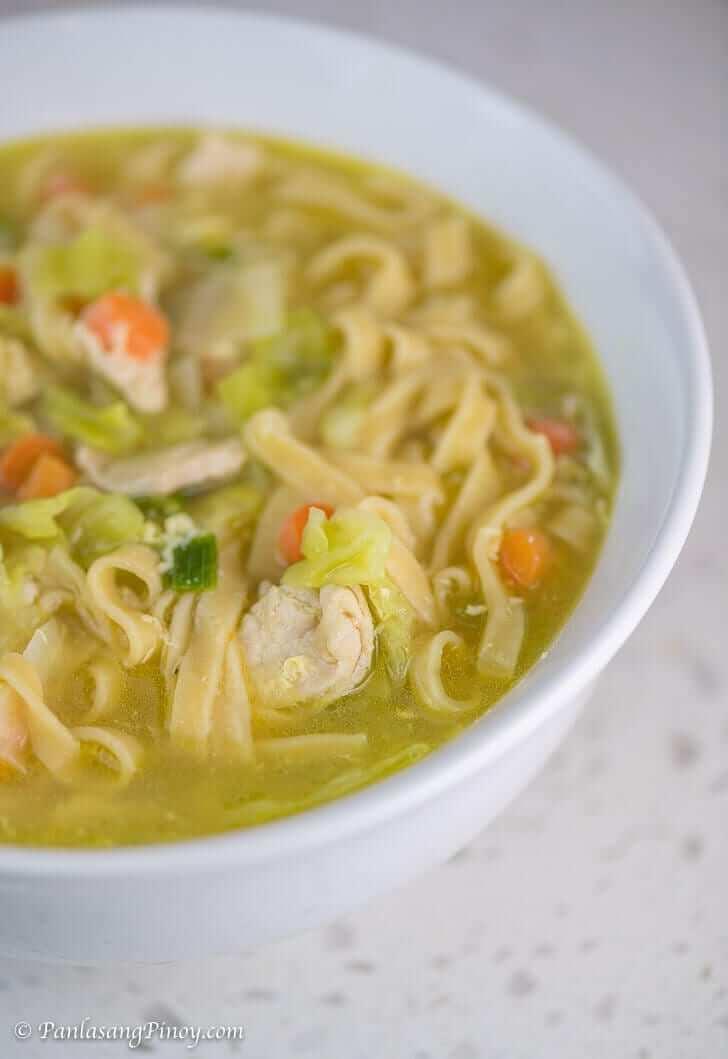 Chicken Lomi Recipe - Panlasang Pinoy