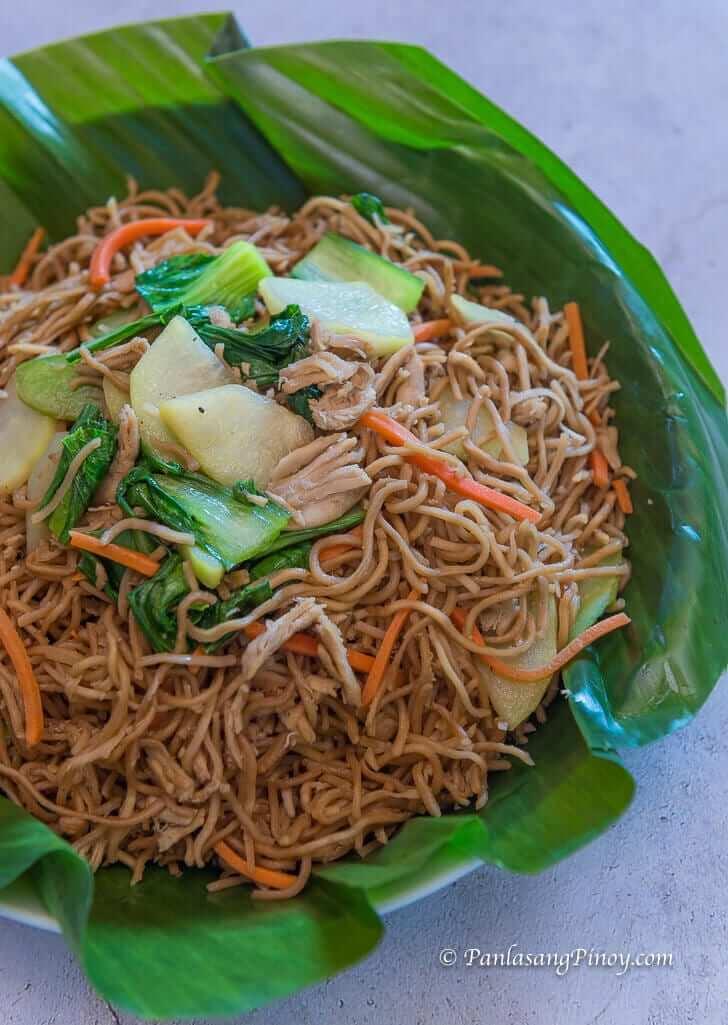 chicken pancit habhab recipe panlasang pinoy