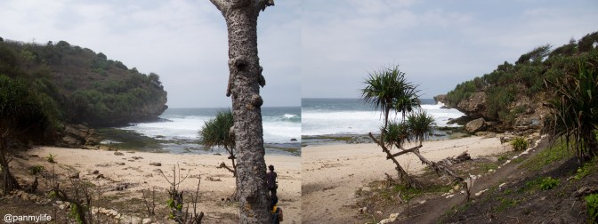Timang beach, Gunung Kidul, Indonesia