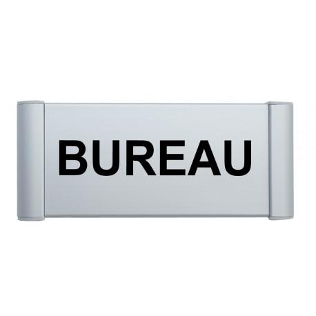 plaque de porte alu bureau