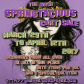 SPRINGTACIOUS CART SALE MARCH 17 POSTER