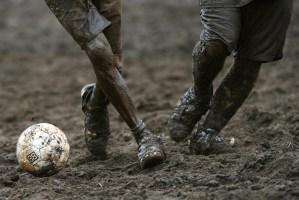 O Troféu e a bola