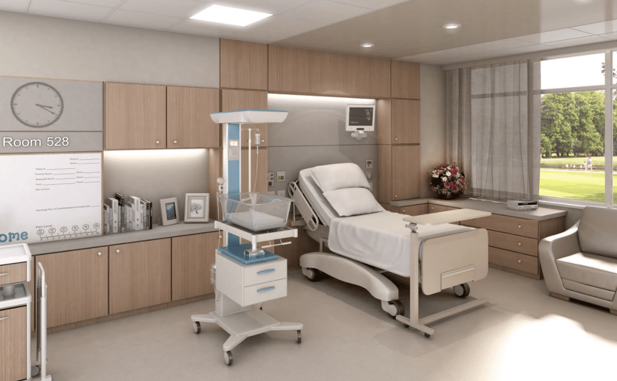 Hospital Room  Panolam Surface Systems