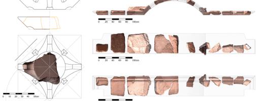 Mise en place d'une méthode d'analyse de blocs architecturaux sculptés. Le cas de la Chapelle d'Obodas