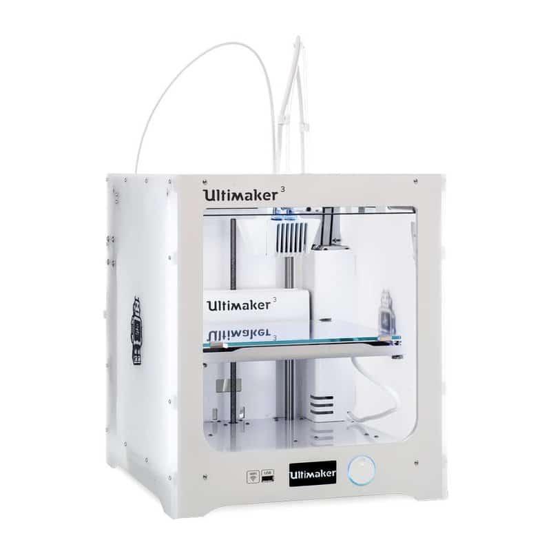 AlICe : 5 nouvelles imprimantes 3D Ultimaker 3