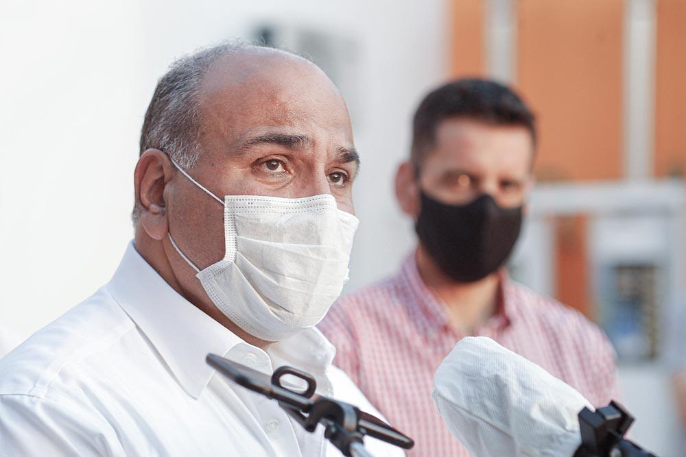"""Manzur: """"La vacuna termina con esta pesadilla que provocó enfermedad y muerte"""""""