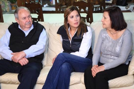 Margarita Arellanes conversó con el ex alcalde nicolaíta
