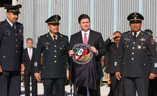 Acudió el Gobernador Rodrigo Medina de la Cruz