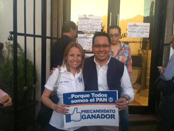 Héctor Castillo es el virtual candidato panista a la alcaldía de Santa Catarina