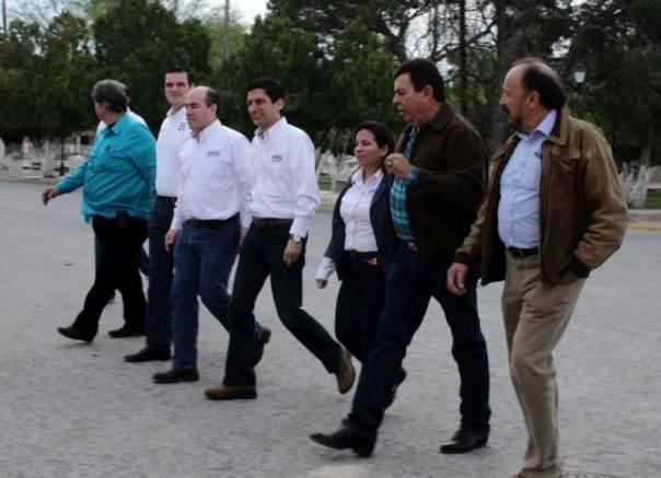 Visitó varios municipios del norte de Nuevo León.