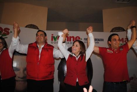 Presenta candidato del PRI a la Alcaldía en Cadereyta, su propuesta de trabajo ante simpatizantes.