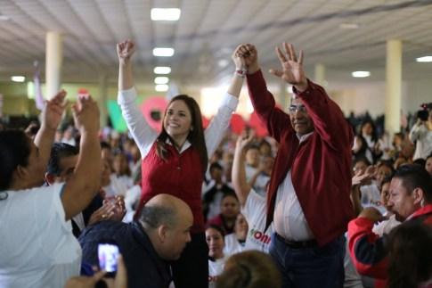 En su visita a Linares, Ivonne Álvarez prometió convertirlo en pueblo mágico.