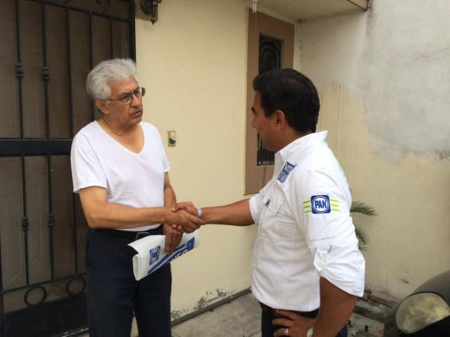 Vecinos de la colonia Rancho Viejo pidieron un cambio en Guadalupe