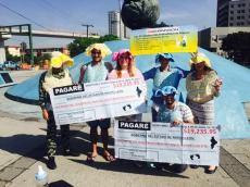 Mostraban un pagaré para cada bebé que nace en Nuevo León