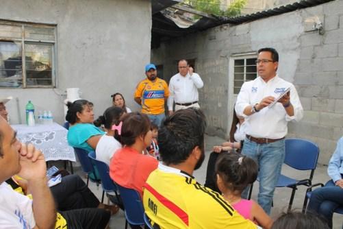 Continúa llevando su propuesta de trabajo a todos los lugares de Santa Catarina.