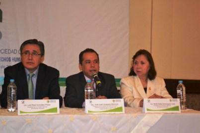 Sostienen diálogo instituciones de Derechos Humanos con organismos sociales