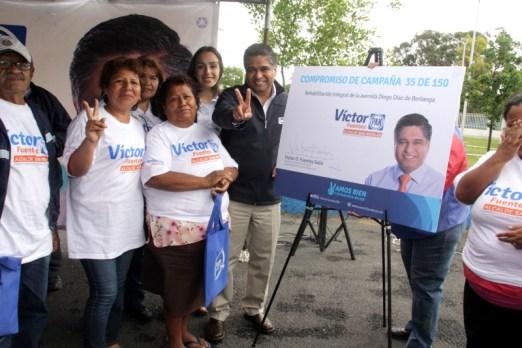 Tres etapas y tres años, llevará mejorar una de las avenidas más transitadas de este municipio; Víctor Fuentes.
