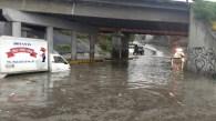 Las lluvias han sido constantes durante este jueves