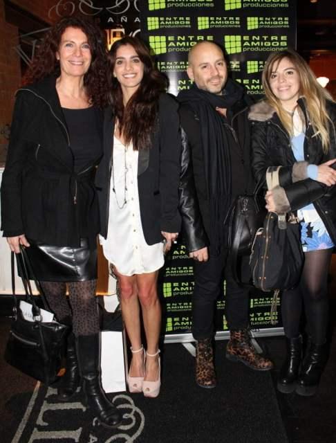 José María Muscari, Dalma Maradona, Katja Alemann y Gabriela Sari