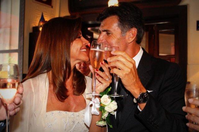 Fabiana Araujo se casó con el economista Alejandro Pérez Escoda