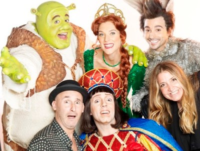 Shrek, El musical realizará una función distendida para chicos con capacidades diferentes