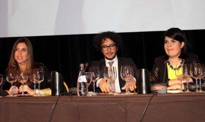 Agustina de Alba, Aldo Graziani y Marina Beltrame