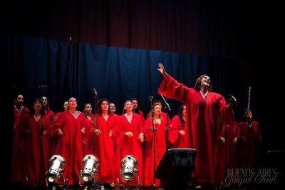 Buenos Aires Gospel Soul despide el año el 15 de noviembre en Teatro Luz y Fuerza