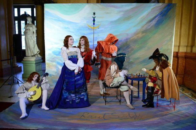 El Teatro Colón rindió homenaje al 50° Aniversario de la Cúpula de Raúl Soldi