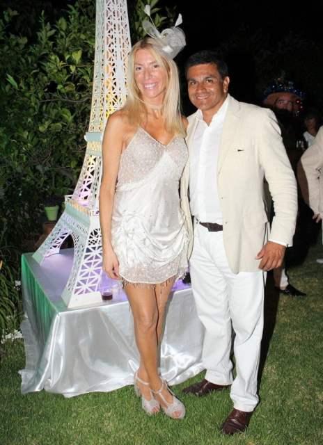 Pablo Guelfo y Susana Clur