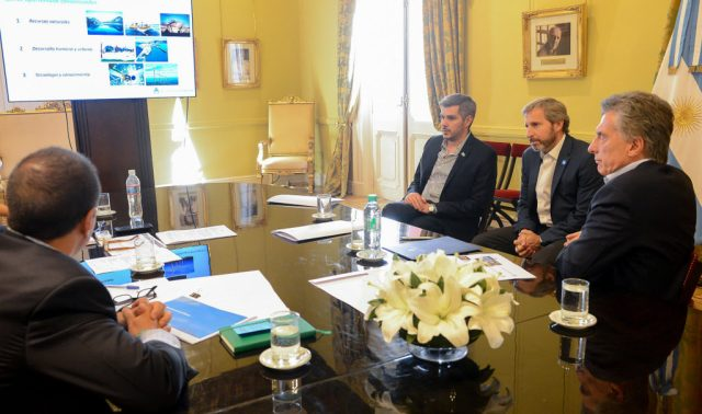 Macri encabezó la primera reunión de seguimiento del Proyecto Patagonia