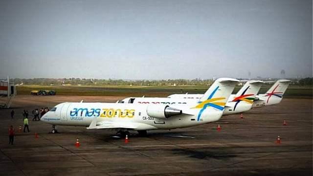 El gobierno autoriza mas frecuencias y cinco nuevas rutas a la aerolínea Amaszonas Uruguay